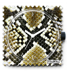 stamps-snappy snake-cadran-montre-bijoux totem