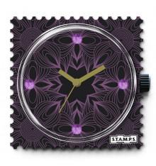 stamps-diamond black graphic-cadran-montre-swarovski-bijoux totem