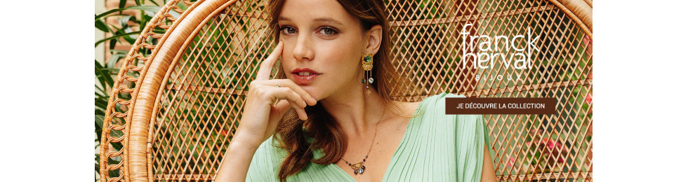FRANCK HERVAL Bijoux : bagues, bracelets, colliers  | Bijoux Totem