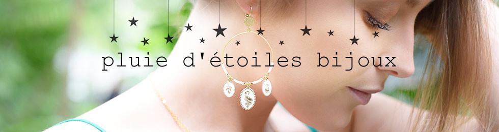 PLUIE D'ETOILES : Bague, collier, boucle d'oreille ! | Bijoux Totem