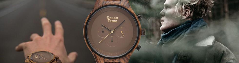 GreenTime sur Bijoux-Totem : Montre homme en bois !