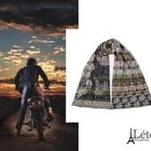 Un foulard Létol pour les papas Motards, ça peut être une bonne idée!  Marque Française, coton bio.  #homme #ideecadeau #fêtedespères #style #boystyle #boy #nature #motard #biker #letol #fabricationfrancaise #madeinfrance ##